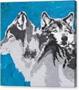 Spirited Pack Canvas Print
