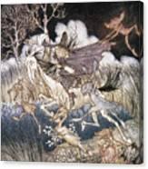 Spirits In Sleepy Hollow Canvas Print