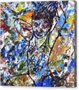 Spirits Of My Palette - Christina Canvas Print