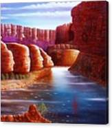 Spirits Of The River Canvas Print