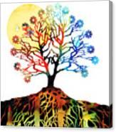 Spiritual Art - Tree Of Life Canvas Print