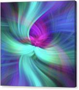 Spiritual Freedom. Mystery Of Colors Canvas Print