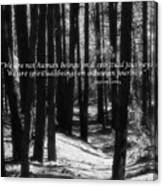 Spiritual Journey Canvas Print