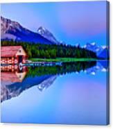 Spiritual Lake Canvas Print