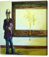 Spit art Canvas Print