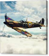 Spitfire P7350 Canvas Print