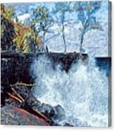 Splash At Mackenzie Canvas Print