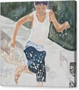 Splash Dance Canvas Print