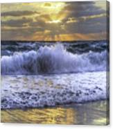 Splash Sunrise IIi Canvas Print