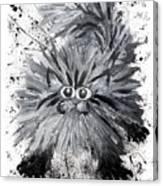 Splat Cat Canvas Print