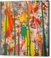 Splatter 1 Canvas Print