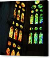 Splendid Stained Glass Windows Canvas Print