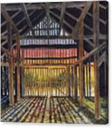 Splendor In The Barn Canvas Print