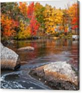 Splendor Of Fall Canvas Print