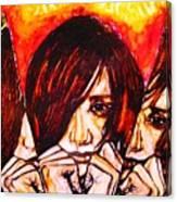 Split Personality Canvas Print