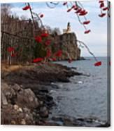 Split Rock Berries Canvas Print