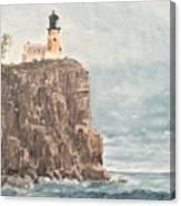 Split Rock Light House 4  Canvas Print
