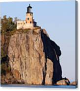 Split Rock Lighthouse Crop 9321 Canvas Print