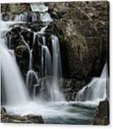 Split Rocks Falls 2 Canvas Print