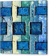 Split Weave Canvas Print