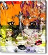 Splitting - Links Between Us Canvas Print