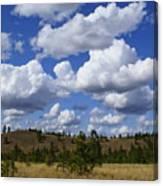 Spokane Cloudscape Canvas Print