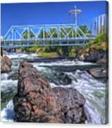 Spokane Falls 2 Canvas Print