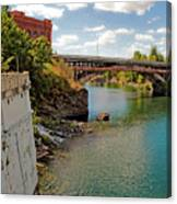 Spokane River Canvas Print