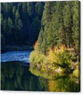 Spokane Rivereflections Canvas Print