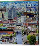 Spokane Washington 2 Canvas Print