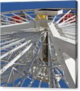 Spokes Of A Ferris Wheel Canvas Print