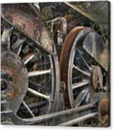 Spokes Of The Past Canvas Print