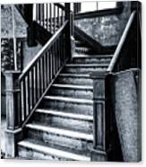 Spooky Grand Staircase Canvas Print
