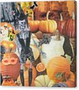 Spooky Harvest Canvas Print