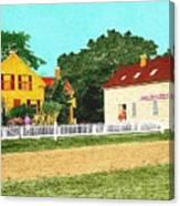 Spooner's Paint Shop Canvas Print