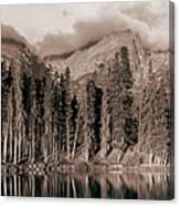 Sprague Lake Morning Canvas Print