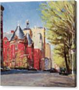 Spring Afternoon, Central Park West Canvas Print