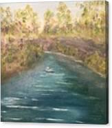 Spring Along Captina Canvas Print