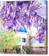 Spring At City Hall Canvas Print