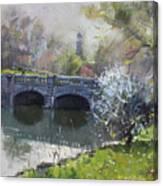 Spring At Delaware Lake Buffalo Canvas Print