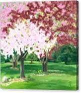 Spring At Osage Land Trust Canvas Print