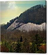 Spring Begins At Glassy Mountain Canvas Print