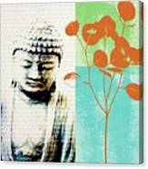 Spring Buddha Canvas Print
