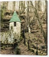 Spring Castle - Rock Island Park Tn Art 585 Canvas Print