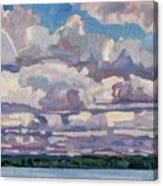 Spring Cumulus Canvas Print