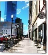 Spring Day In Downtown Lexington, Ky Canvas Print