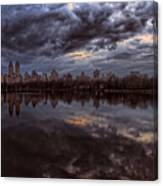 Spring Evening Central Park Nyc 2 Canvas Print