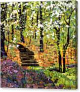 Spring Fantasy Forest Canvas Print