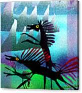 Spring Frollycke Canvas Print