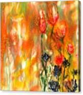 Spring Garden Healing Canvas Print